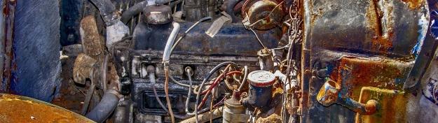 moteur rouillé reduit